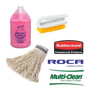 Utensilios y productos de mantenimiento y limpieza