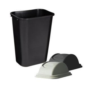Cesto de basura ignífugo 39.0 L